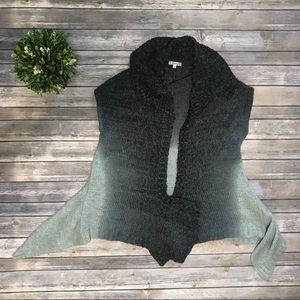 Carducci L Ombré Blue Gray Sweater Vest 525